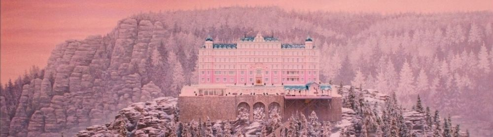 The Grand Budapest Hotel: Hotel on mountain