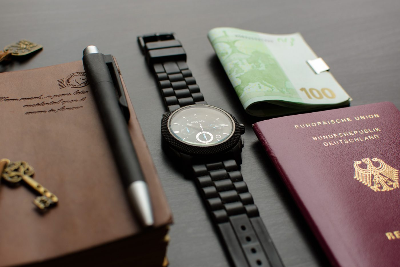 Passport Money Passport Watch