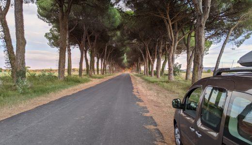 Roadie: route on map